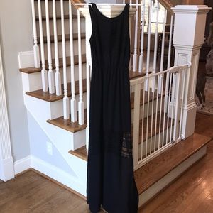 H&M Black Maxi Dress